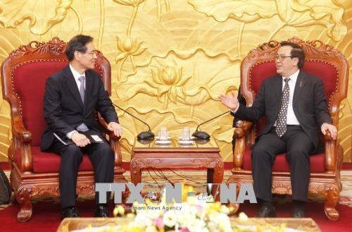 Der Sekretär der internationalen Konferenz der asiatischen politischen Parteien zu Gast in Vietnam  - ảnh 1