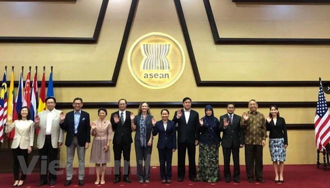 Die Sitzung der ASEAN-USA-Kommission - ảnh 1