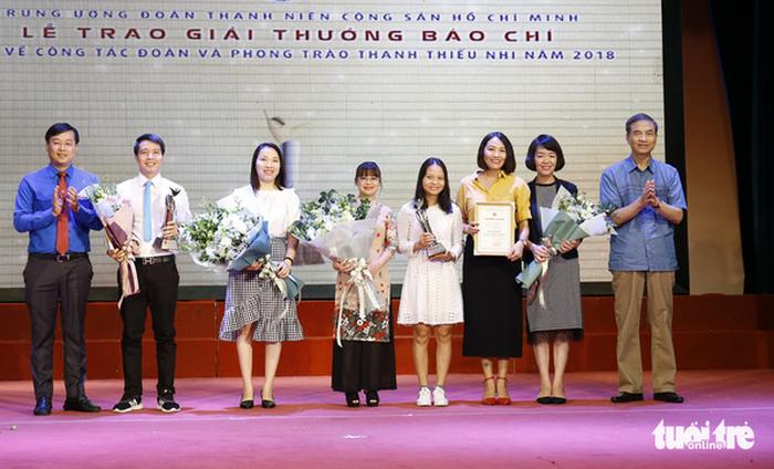 Verleihung der Presse-Preise über den Jugendverband und Junioren-Bewegungen - ảnh 1