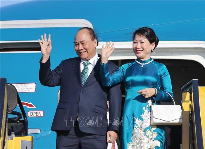Premierminister Nguyen Xuan Phuc zu Gast in Österreich - ảnh 1