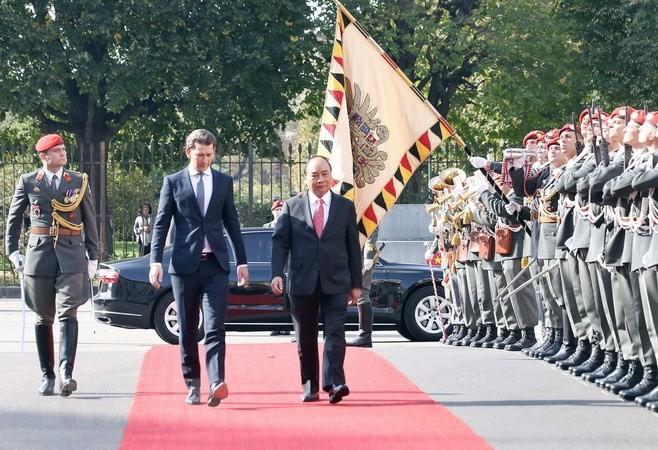 Hochrangige Gespräche zwischen Vietnam und Österreich - ảnh 1