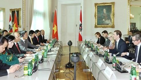 Vertiefung der Beziehungen zwischen Vietnam und Österreich - ảnh 1