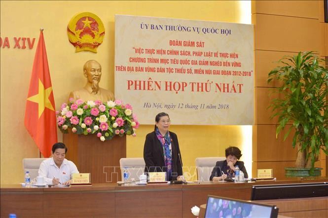 Scharfe Kontrolle der Umsetzung der Politik zur Armutsminderung für ethnische Minderheiten  - ảnh 1