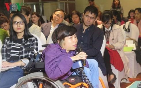 Gewährleistung der Gleichberechtigung für Menschen mit Behinderung - ảnh 1