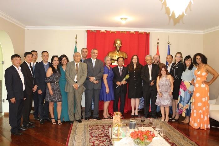 Die bilateralen Beziehungen zwischen Vietnam und Brasilien haben viele Chance auf Entwicklung - ảnh 1