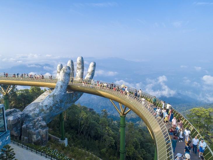 Die goldene Brücke steht weiterhin auf der Weltliste der spektakulären Brücken - ảnh 7