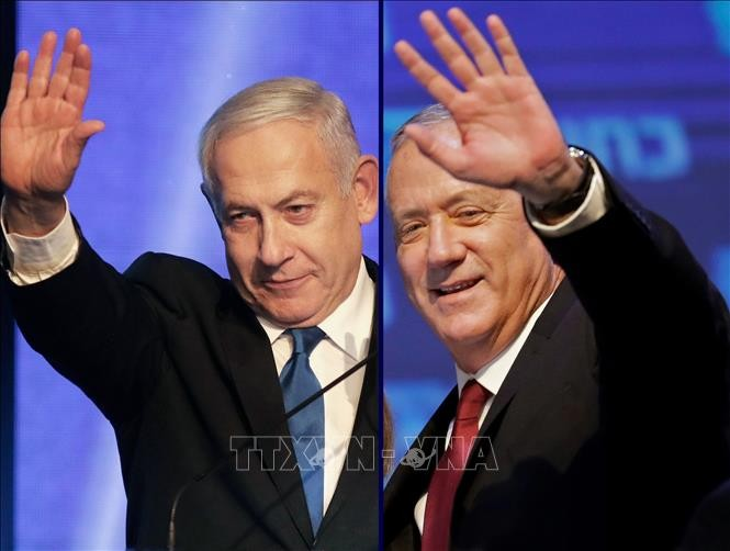 Die neue Regierung in Israel vereidigt - ảnh 1