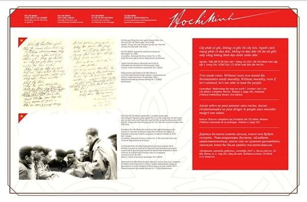 Buchausstellung über das Leben und die Karriere des Präsident Ho Chi Minh - ảnh 1