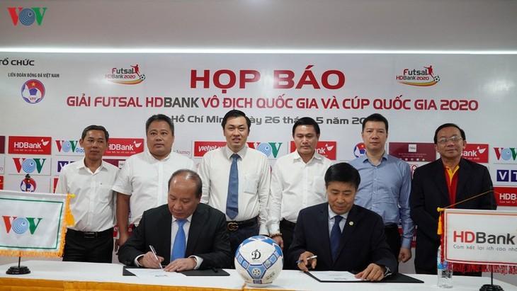 Futsal HDBank 2020 gestartet - ảnh 1