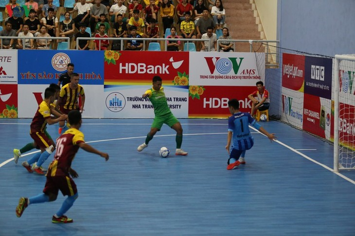 Die Finalrunde der Futsal-Meisterschaft in Khanh Hoa gestartet - ảnh 1