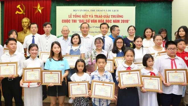 """Der Wettbewerb """"Botschafter für Lesekultur 2020"""" in Hanoi gestartet - ảnh 1"""