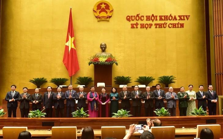 Abschluss der Parlamentssitzung - ảnh 1