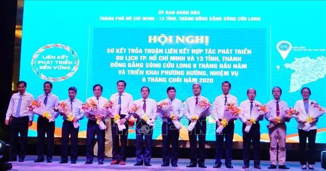 Kooperation im Tourismus zwischen Ho-Chi-Minh-Stadt und 13 Provinzen im Mekong-Delta - ảnh 1