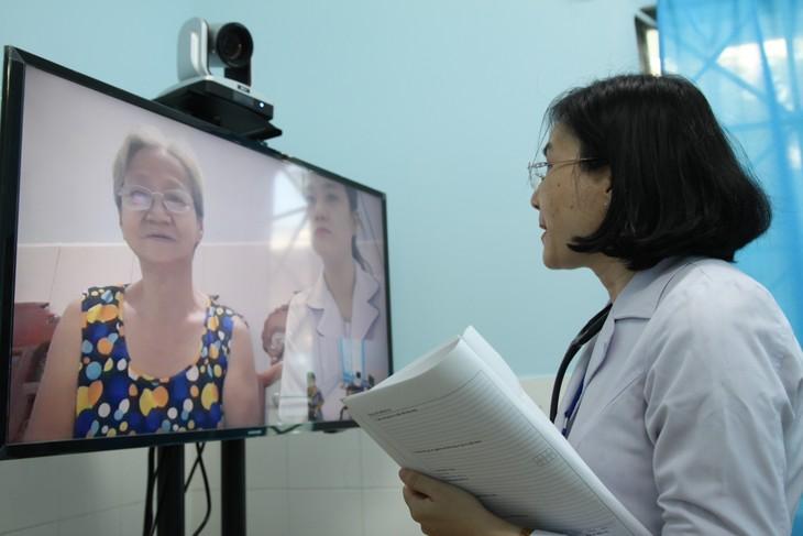 Pilotprojekt zur Fernbehandlung in Ho Chi Minh Stadt - ảnh 2