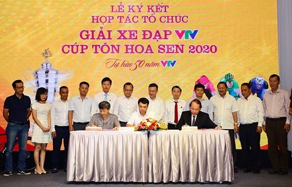 Zehn Mannschaften werden sich am Radrennen VTV Ton Hoa Sen-Pokal 2020 beteiligen - ảnh 1
