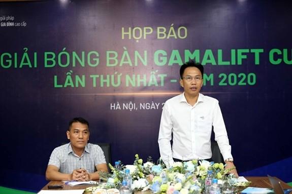 Mehr als 200 Sportler beteiligen sich an Tischtennis-Turnier Pokal Gama Lift - ảnh 1