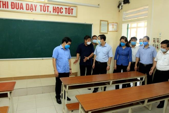 Sicherheitsschutz für Abschlussprüfung der Oberschulen - ảnh 1