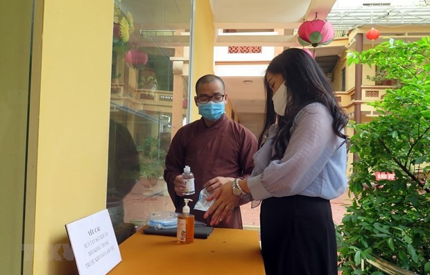 Covid-19: Der vietnamesische Buddhisten-Verband fordert Pagoden, Ahnendankfest online zu führen - ảnh 1