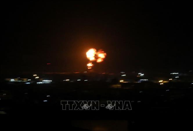 Israel führt wieder Luftangriff auf Gaza-Streifen - ảnh 1