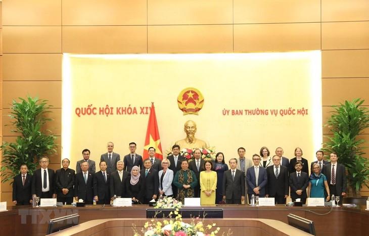 AIPA stellt die Rolle der vietnamesischen Diplomatie dar - ảnh 1