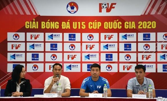 Acht Teams beteiligen sich an Finalrunde der U15-Fußballnationalmeisterschaft  - ảnh 1