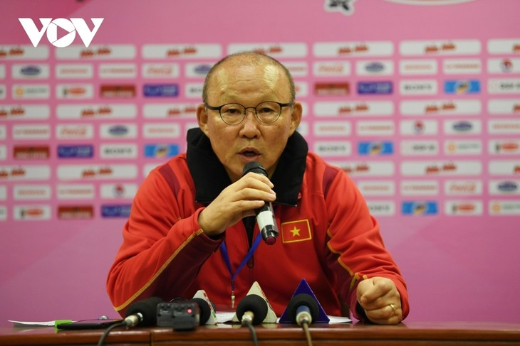 Fußball-Trainer Park Hang-seo begrüßt das Neujahrsfest in der Quarantäne - ảnh 1