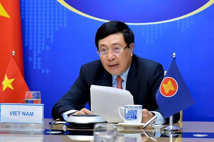 Virtuelle Sitzung der ASEAN-Außenminister  - ảnh 1