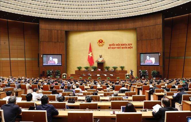 Die Tagung des Parlaments in der 2. Woche - ảnh 1