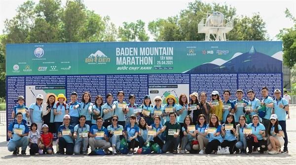 Laufwettbewerb Ba Den Mountain 2021 eröffnet - ảnh 1