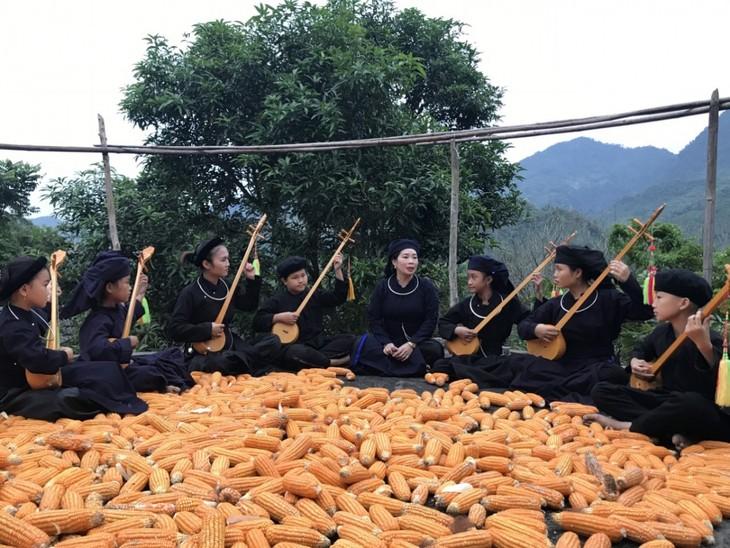 Der Klub Sac Cham verbreitet die Then-Melodien aus dem Dorf - ảnh 2