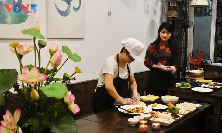 Le restaurant végétarien Làng Ta - ảnh 4