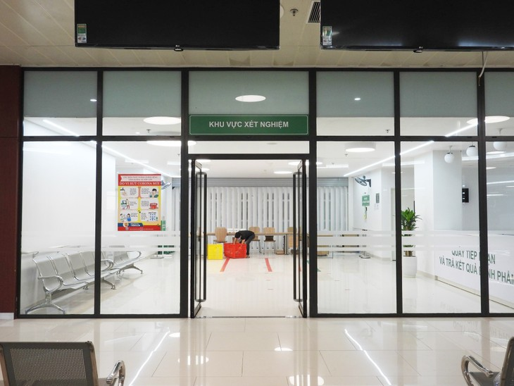 Covid-19: L'hôpital temporaire Bach Mai à Hà Nam prêt à être servi - ảnh 1