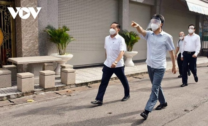 Covid-19: Vu Duc Dam travaille avec les autorités de Bà Ria-Vung Tàu - ảnh 1