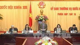 Ủy ban Thường vụ Quốc hội khai mạc phiên họp thứ 13 - ảnh 1