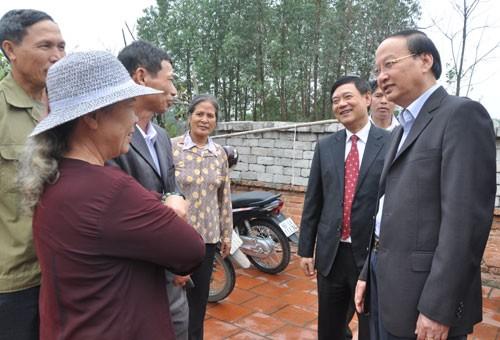 Lãnh đạo Đảng tặng quà Tết hộ nghèo tại tỉnh Bắc Ninh - ảnh 1