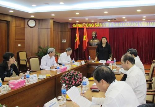 Đảng ủy Khối doanh nghiệp Trung ương thực hiện tốt Nghị quyết Trung ương 4 (khóa XI) - ảnh 1