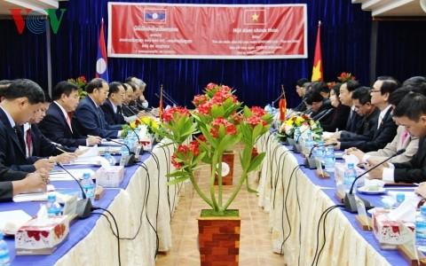 Ngành toà án Việt Nam - Lào tăng cường hợp tác  - ảnh 1