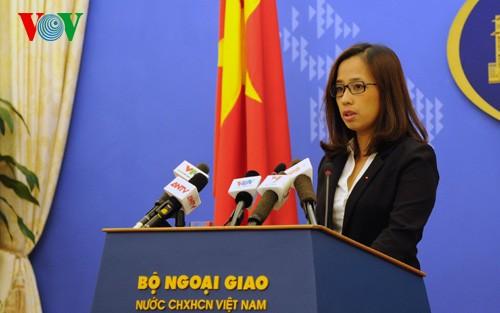 Việt Nam phản đối và yêu cầu Trung Quốc chấm dứt hoạt động cải tạo ở Trường Sa - ảnh 1