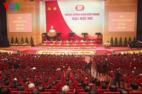 Hôm nay, Đại hội lần thứ XII Đảng cộng sản Việt Nam thảo luận các văn kiện - ảnh 1