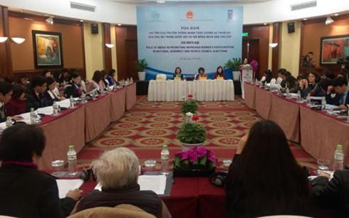 Tăng cường sự tham gia của phụ nữ trong Quốc hội và Hội đồng nhân dân các cấp - ảnh 1