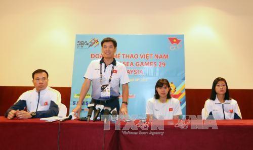 Cборная Вьетнама продолжает занимать 3-е место на 29-х Играх ЮВА - ảnh 1