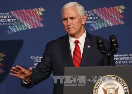 Пенс: США выступают за жесткую политику в отношении КНДР - ảnh 1