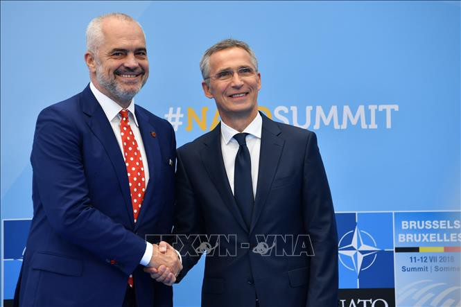 НАТО построит в Албании первую на Балканах авиабазу - ảnh 1