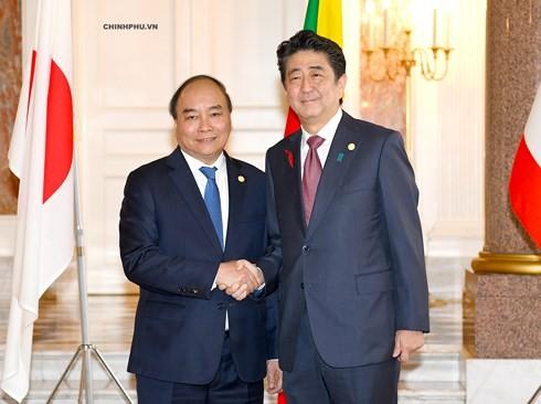 Вьетнам и Япония активизируют отношения стратегического партнерства - ảnh 1