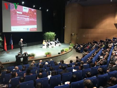 В Тулузе открылась 11-я конференция по сотрудничеству между районами Вьетнама и Франции - ảnh 1