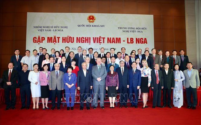 В Ханое прошла вьетнамско-российская дружественная встреча - ảnh 1