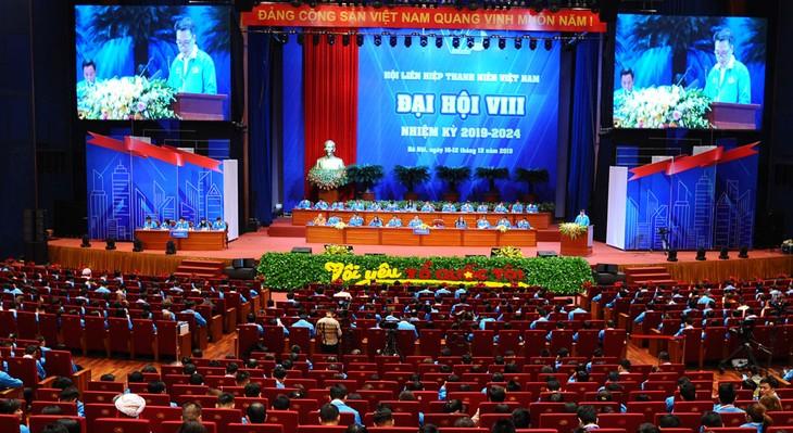 Открылся 8-й съезд Союза вьетнамской молодежи - ảnh 1