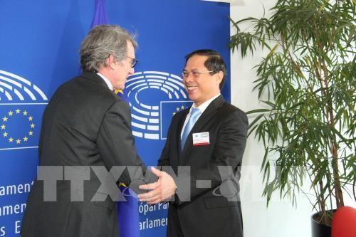 Председатель Европарламента поддерживает расширение сотрудничества с Вьетнамом - ảnh 1