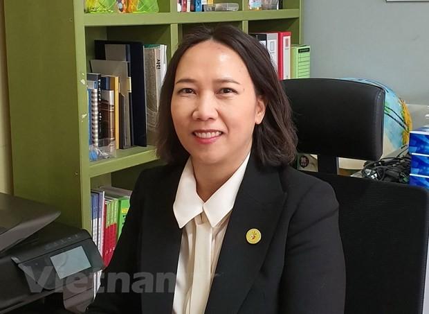 Первая южнокорейская гражданка вьетнамского происхождения баллотируется в Нацсобрание Республики Корея - ảnh 1