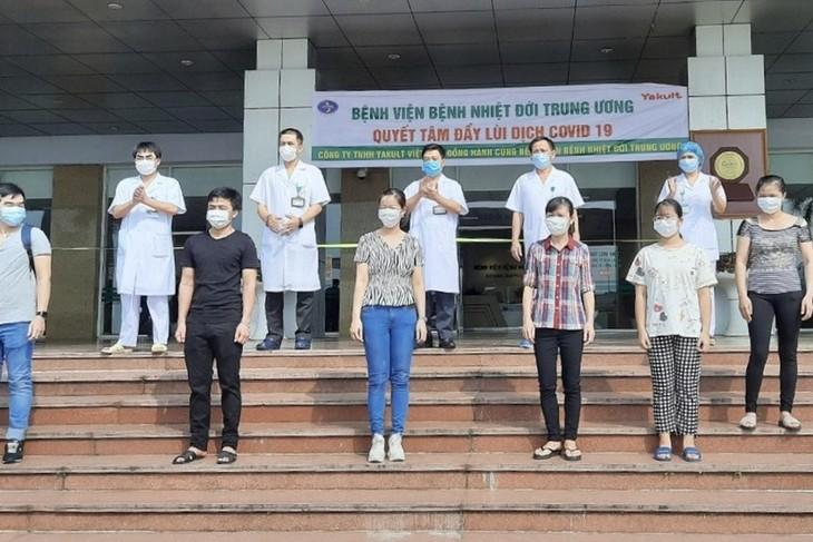 Вьетнам: ещё 8 заразившихся коронавирусом выздоровели - ảnh 1
